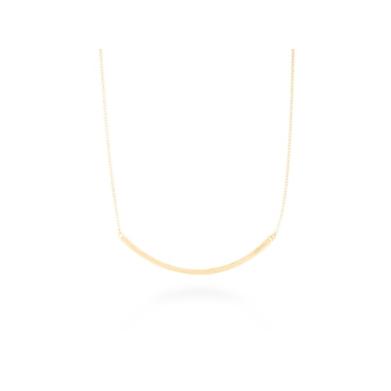 """Colgante de plata dorado en oro amarillo matizado, """"Dalma"""" de Luxenter."""