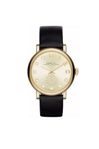 Reloj Marc by Marc Jacobs de mujer con caja dorada y correa negra MBM1399