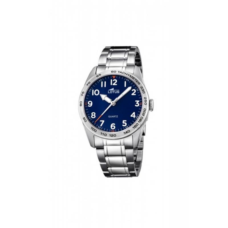 """Reloj Lotus para niño de acero """"Junior"""" con esfera azul 18275/2"""