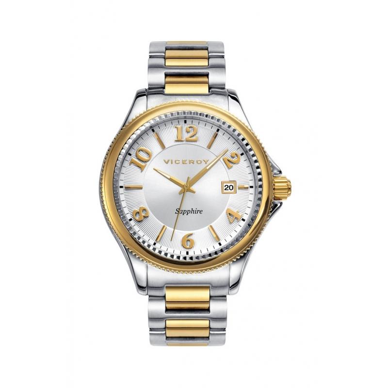 """Reloj Viceroy """"Penélope Cruz"""" de hombre en acero parcialmente dorado 47887-95"""