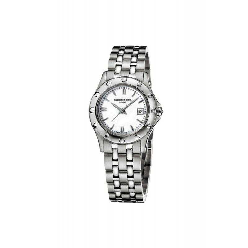 """Reloj Raymon Weil """"Tango"""" de mujer en acero 5390-ST-30001."""