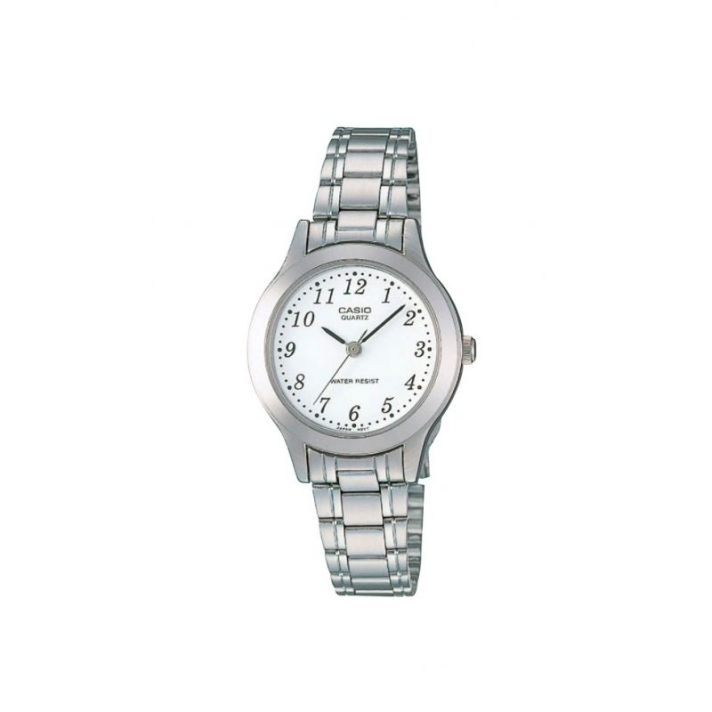 07c4168e39c9 Reloj Casio Collection de mujer plateado