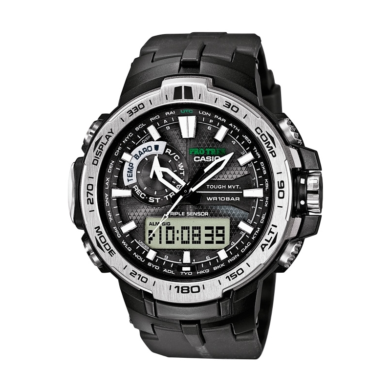 "Reloj Casio G-Shock ""Pro teck"" en negro con Tough Solar, Smart Access y Wave Receptor PRW-6000-1ER."