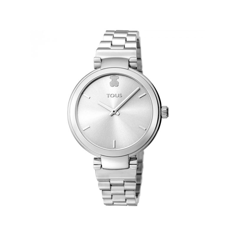 """Reloj Tous para señora """"Julie"""" en acero, de estilo clásico 600350405."""