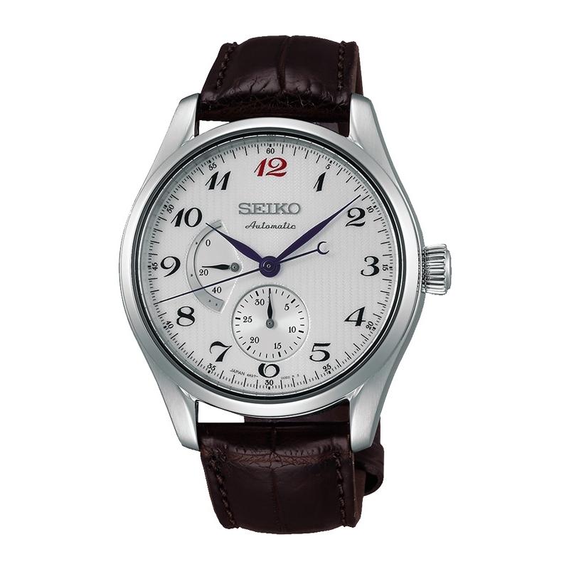 Reloj Seiko Presage de hombre automático clásico con correa de piel SPB041J1.