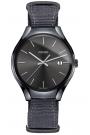 """Reloj Rado de hombre en cerámica negra, """"True"""" con correa de nylon R27232106."""