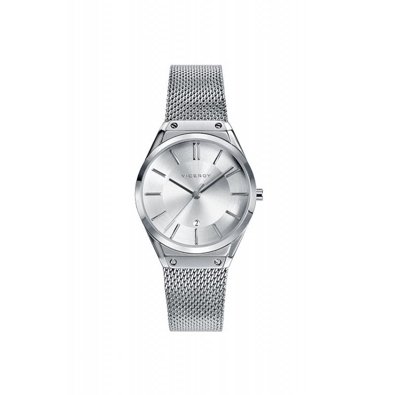 Reloj Viceroy para mujer de estilo retro, en acero 42234-07.
