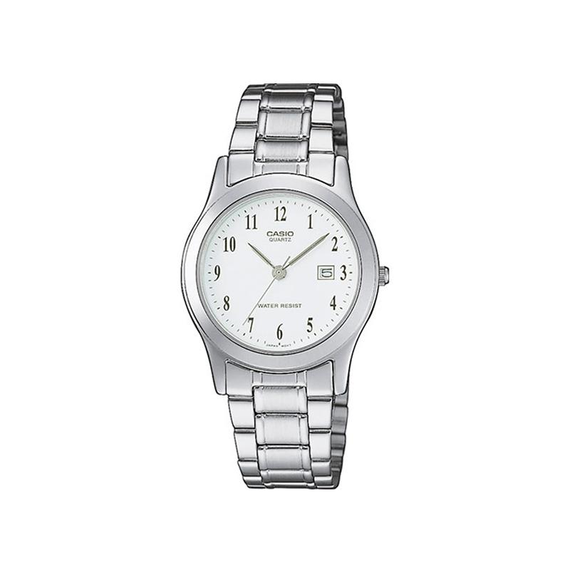 Reloj Casio de mujer de la gama básica, en plateado LTP-1141PA-7BEF.