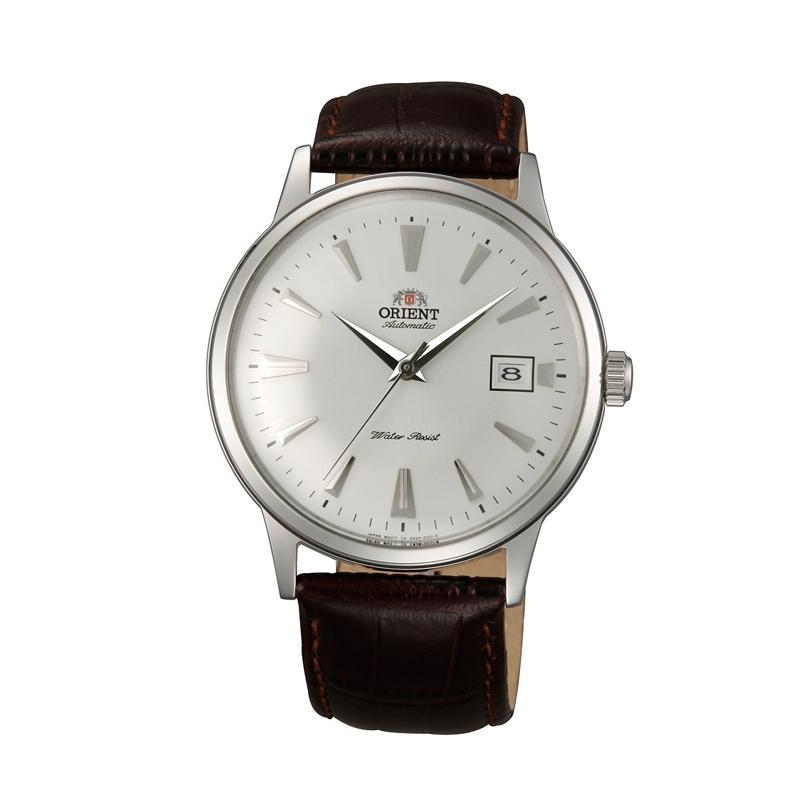 Reloj Orient de hombre clásico, automático y de cuerda, con correa marrón AC00005W.