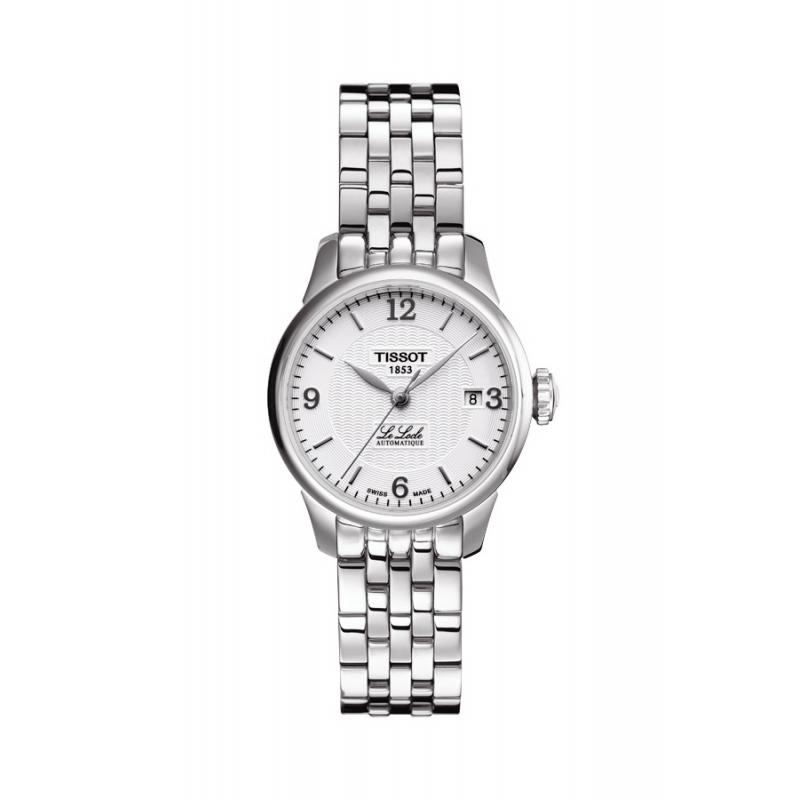 """Reloj Tissot """"Le Locle"""" de mujer automático en acero, de estilo clásico T41118334."""