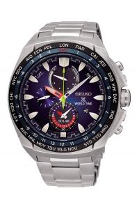Reloj Seiko Prospex Mar Diver´s 200 metros, solar para hombre con esfera azul SNE435P1.