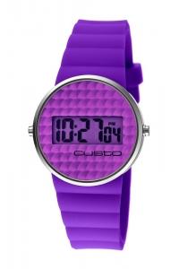 """Reloj Custo """"Chewing Gum"""" en morado CU046604"""
