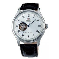 Reloj Orient automático para hombre, con ventana a máquina y correa de piel AG00003W.