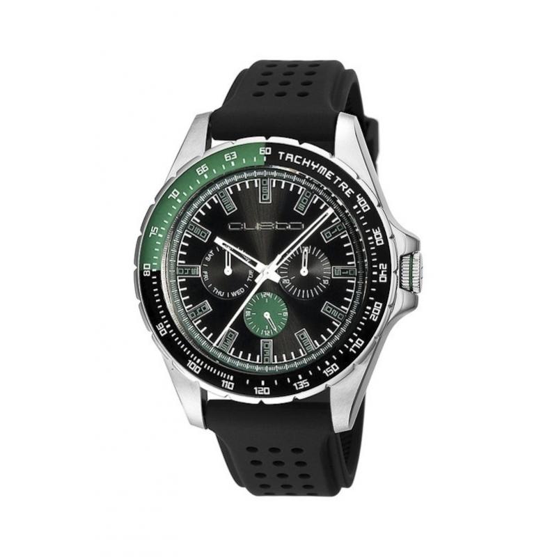 """Reloj Custo """"Sportif"""" caucho CU054503"""