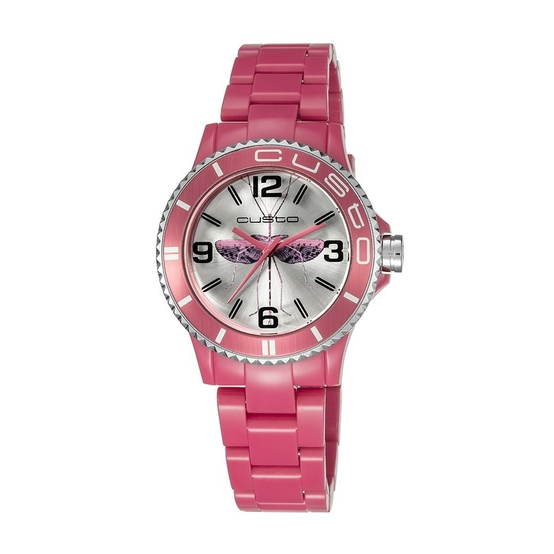 "Reloj Custo ""My Custo Watch"" rosa CU058206"