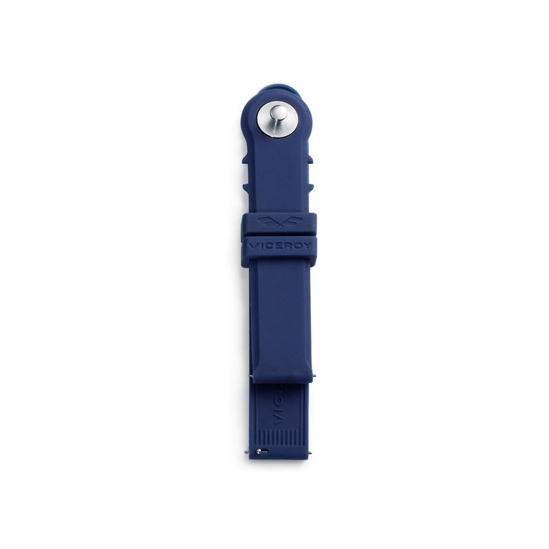 Correa Viceroy de silicona en azul marino, para relojes Antonio Banderas.