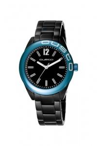 "Reloj Custo ""Velvet"" negro CU057201"