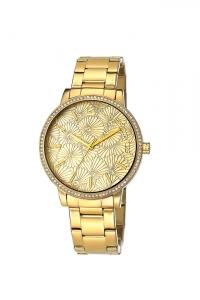"""Reloj Custo """"Miss Daisy"""" acero chapado CU060203"""