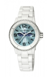 "Reloj Custo ""My Custo Watch"" blanco CU058205"