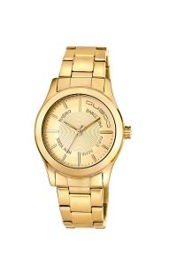 "Reloj Custo ""Gold Fever"" mujer CU061202"