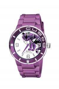 Reloj Watx by Custo en silicona morado REW1004.