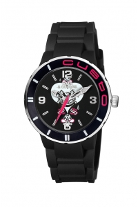 Reloj Watx by Custo negro pequeño REW1601