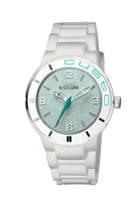Reloj Watx by Custo blanco y celeste REW1604