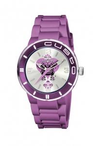 Reloj Watx by Custo morado pequeño REW1608