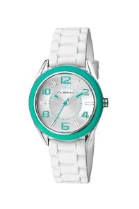 """Reloj Custo """"Shampoo"""" en blanco CU049601"""