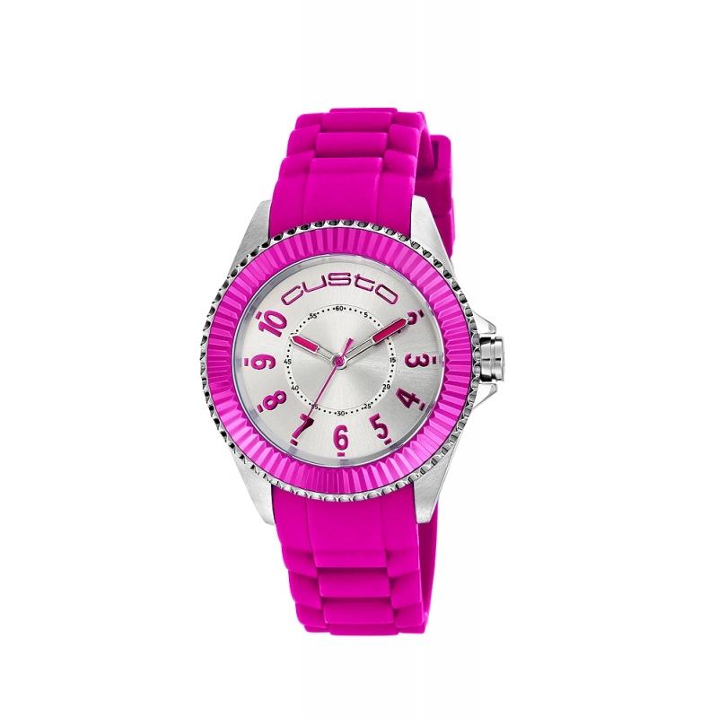 "Reloj Custo ""B-Sporty"" rosa CU062602"