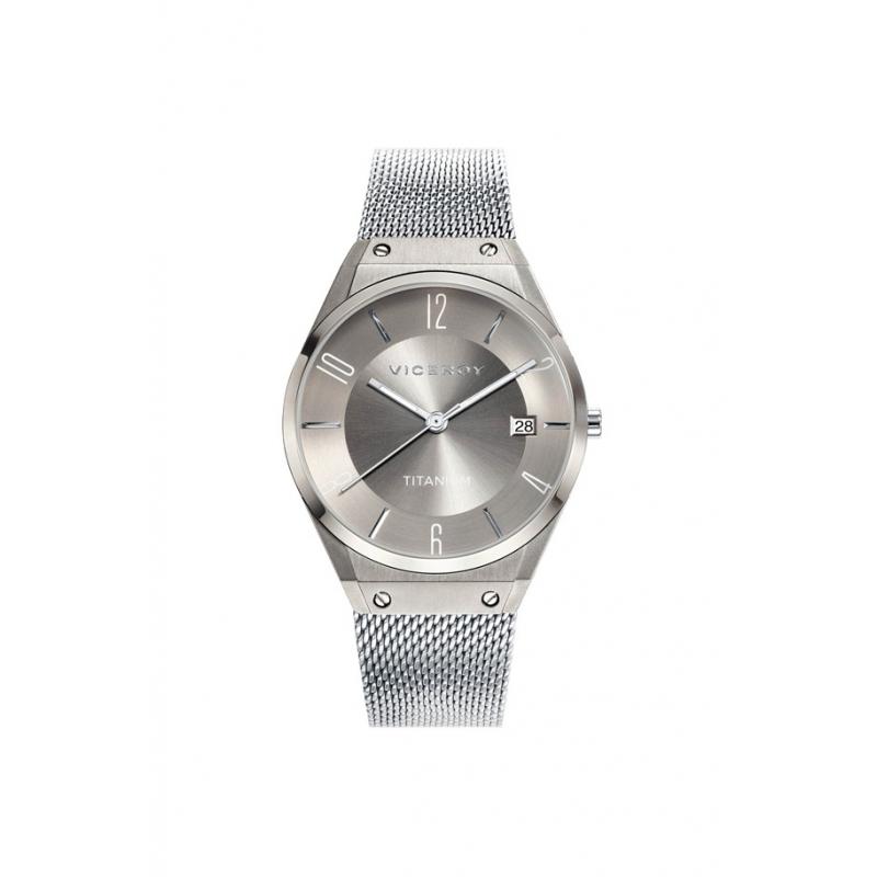 """Reloj Viceroy de mujer """"Air"""" en plateado con malla milanesa, ref. 42316-17."""