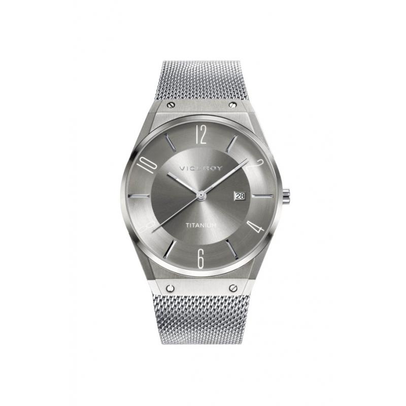"""Reloj Viceroy hombre """"Air"""", en caja de titanio y brazalete de acero, ref. 42323-17"""