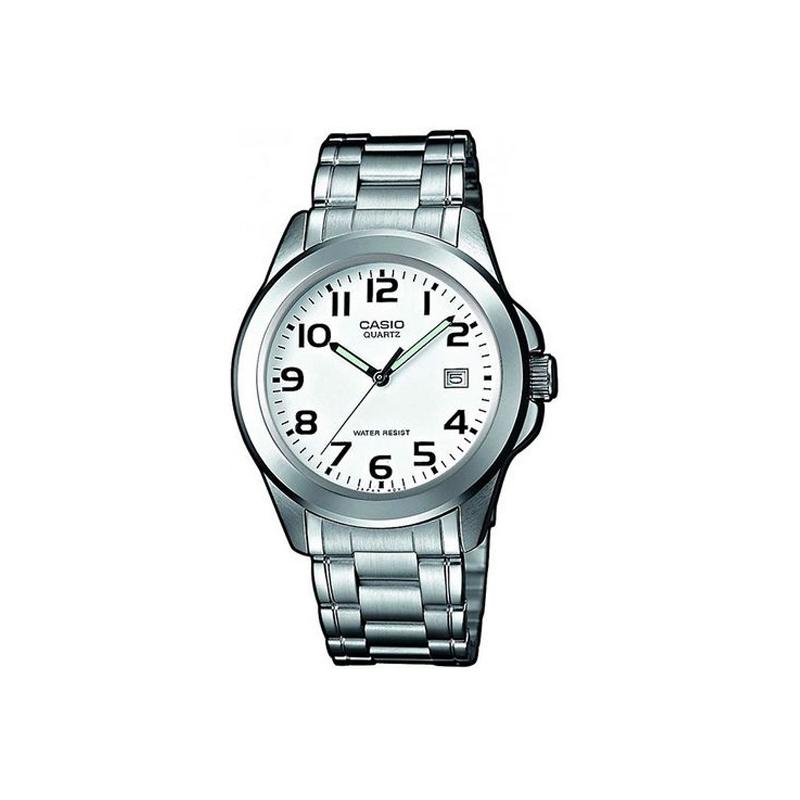 ahorrar e2793 11f82 Reloj Casio de hombre plateado, de la gama básica, ref. MTP-1259PD-7BEF.