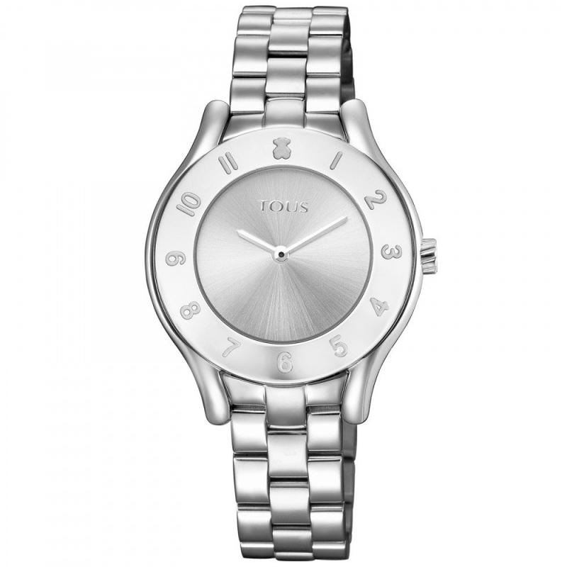 """Reloj Tous """"Errold"""" de mujer plateado, ref. 700350230."""