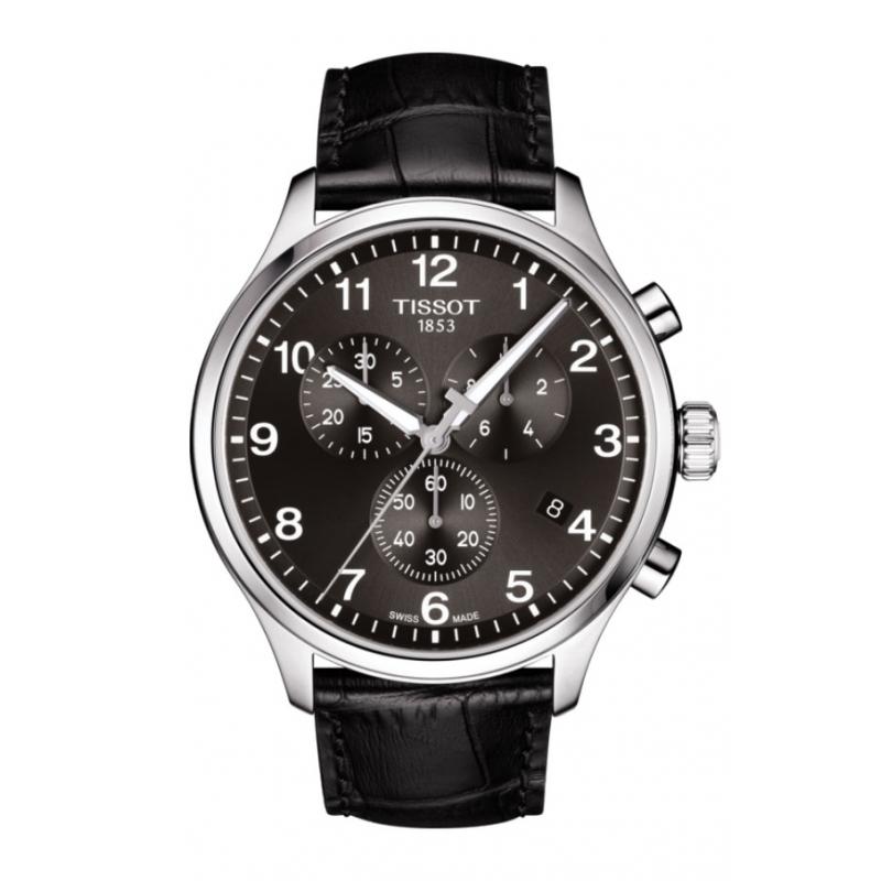Reloj Tissot  Chrono SL para hombre, en negro con caja de acero, ref. T1166171605700.