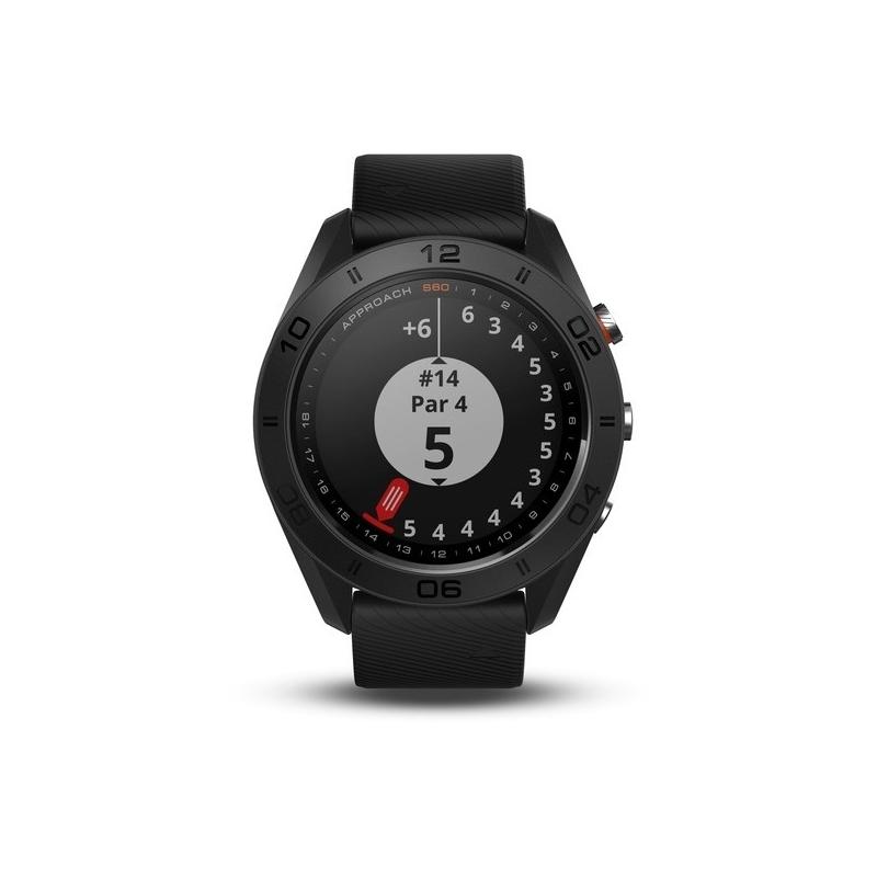 Reloj Garmin Approach® S60 negro, especial para golf, ref. 010-01702-00
