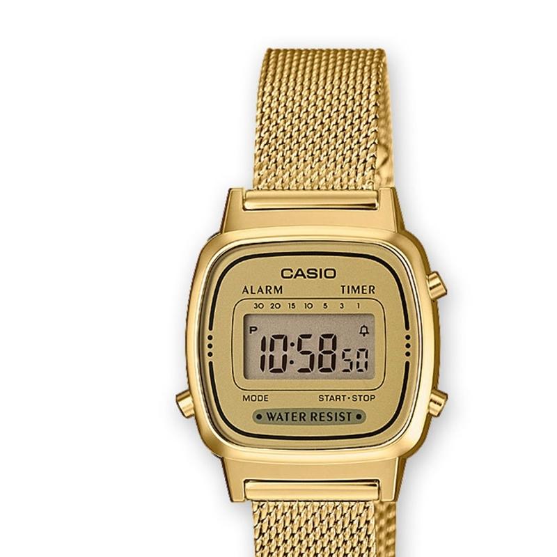 información para 94177 81201 Reloj Casio dorado