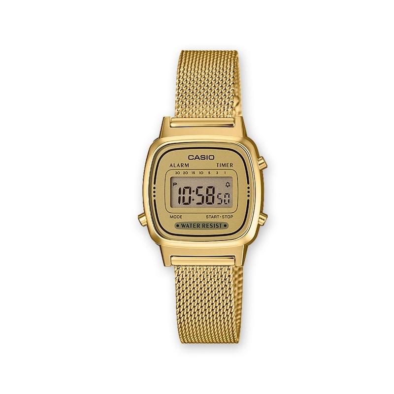 1b1605815605 Reloj Casio dorado
