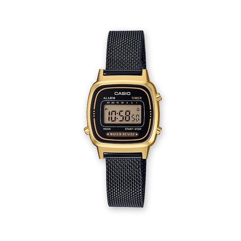 Reloj MujerDorado Casio De 1ef Y RetroRefLa670wemb NegroEstilo QdorCthxBs