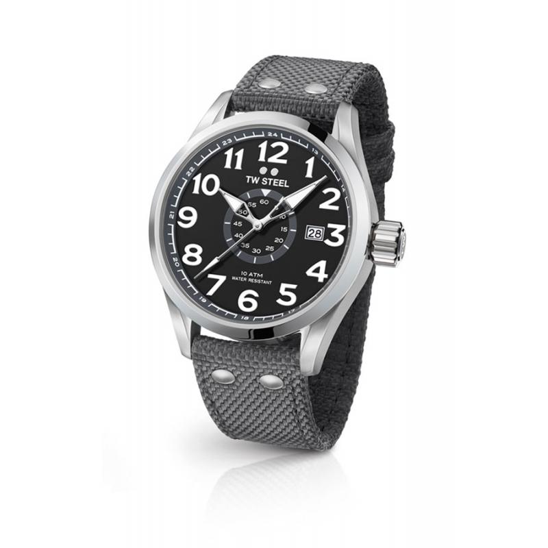 Reloj Tw Steel Volante de 48 mm., para caballero, en gris, ref. VS12.