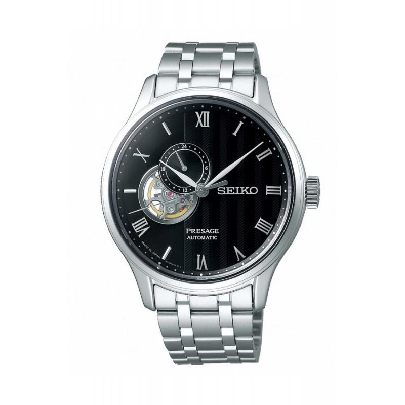 Reloj Seiko Presage SSA377J1 automático de hombre, con ventana a maquina.