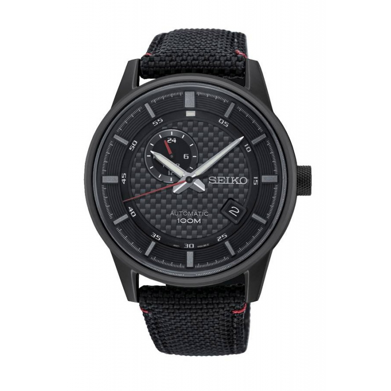 Reloj Seiko SSA383K1 Neo Sport automático de hombre, en negro.
