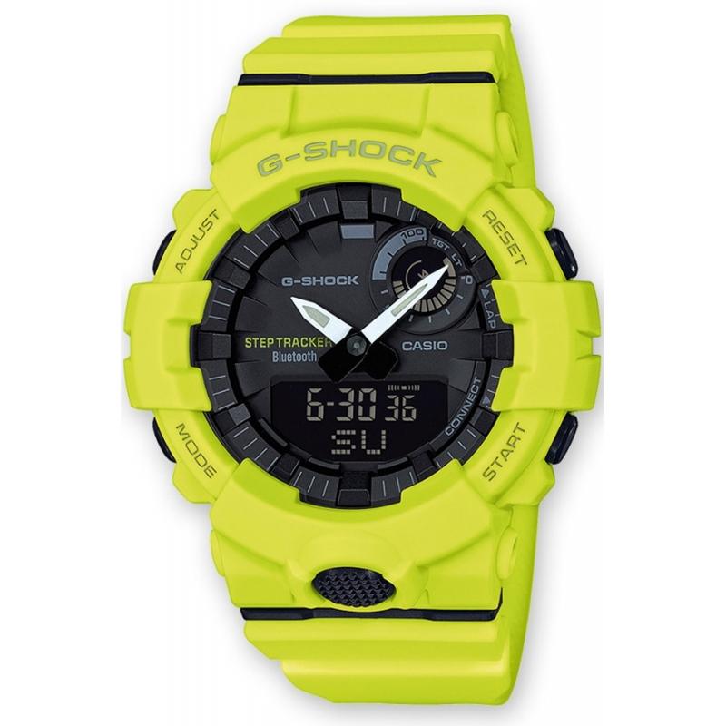Reloj 9aer Y SquadRefGba Casio G Shock AmarilloCon Bluetooth® 800 Sistema A34jq5RL