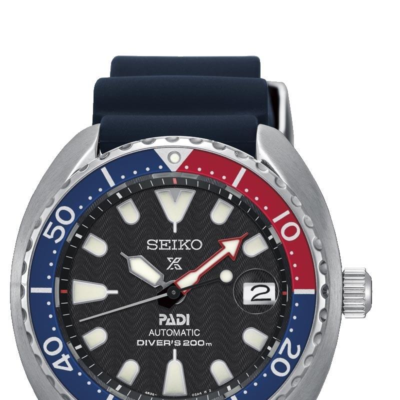 0325da39 Reloj Seiko Prospex SRPC41K1 Diver 200 metros Padi automático para hombre,  con caucho.