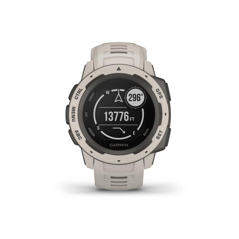Reloj Garmin Instinct para hombre en resina gris, con GPS, 010-02064-01