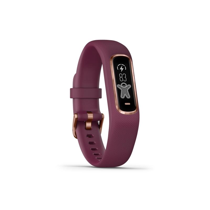 venta outlet llegando reputación confiable Reloj Garmin Vívosmart® 4 de mujer en granate con detalles rosados,  010-01995-01.