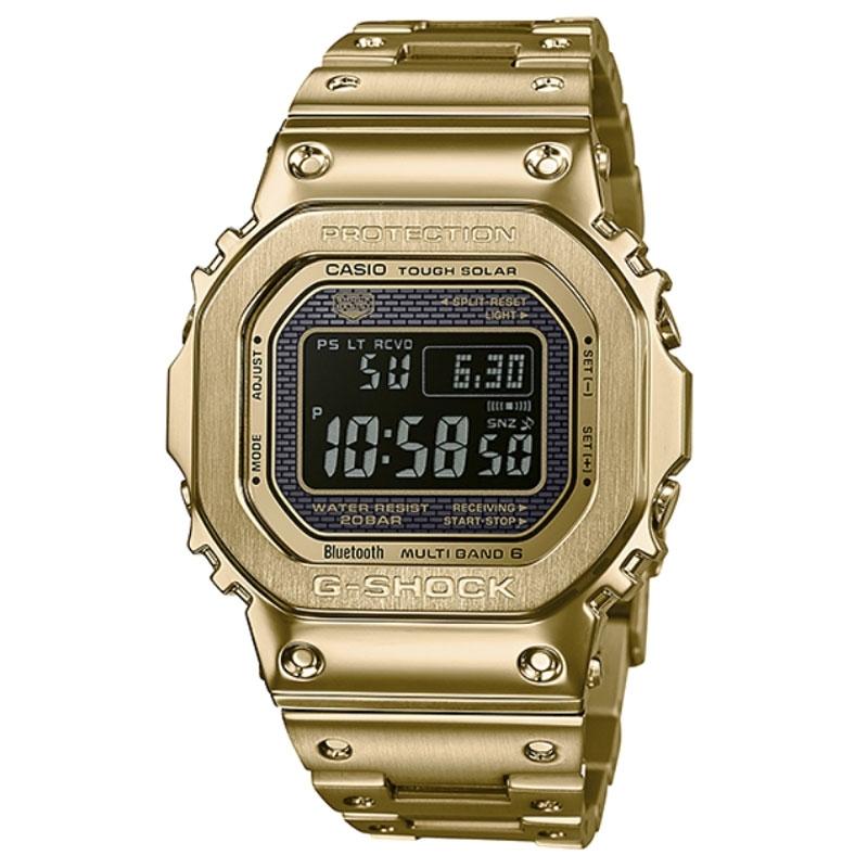 Reloj Casio G-Shock 35 Aniversario en acero dorado, ref. GMW-B5000GD-9ER.