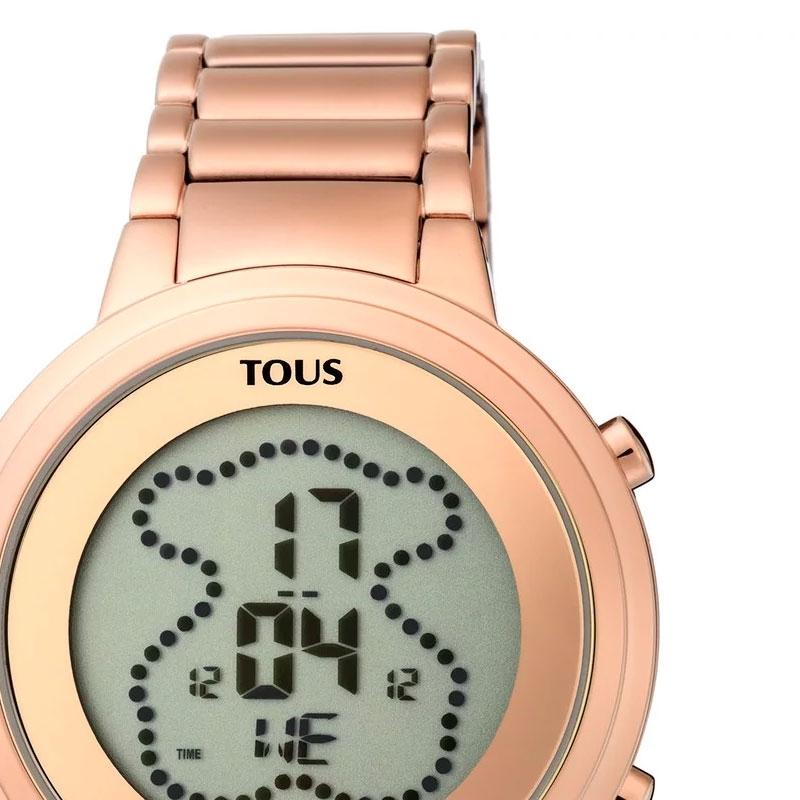 minorista online 26b9d e304a Reloj Tous Digibear digital de mujer, en acero dorado en oro rosé,  900350045.