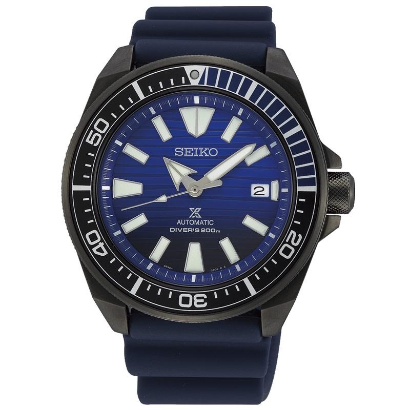 Reloj Seiko Prospex SRPD09K1 automático y diver´s 200m. en azul.