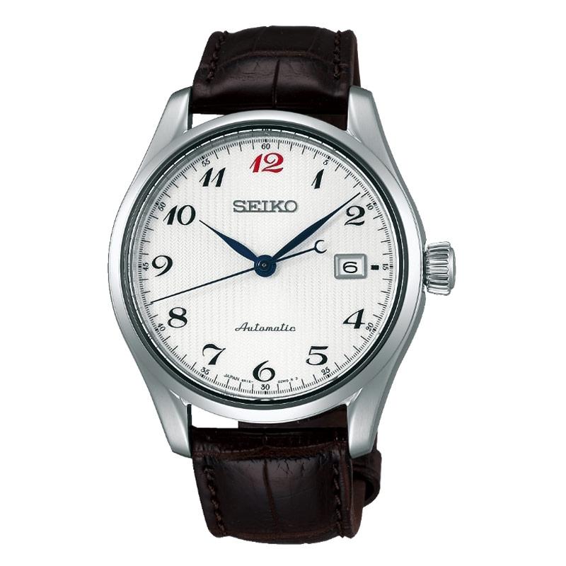 Reloj Seiko Presage SPB039J1 automático para hombre con correa piel.